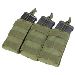 Condor Open-Top Triple Magazine Pouch for Three M4/M16 Mags, OD