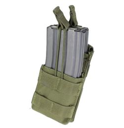 Condor Open-Top Single Magazine Pouch for Two M4/M16 Mags, OD