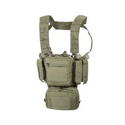 Helikon Training Mini Rig with Fixed Magazine Pouches, Adaptive Green