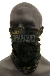 Mil-Tec Multi-Purpose Tube Neck Warmer/Scarf, Camouflage Pattern