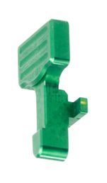 RetroArms Aluminum Bolt Catch Release for M4/M16 Series, Type B, Green