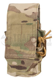 Templar's Gear Single Magazine Pouch for Two M4/M16 Mags, Multicam