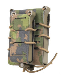 Templar's Gear FAST Single Kangaroo Magazine Pouch for Two Mags, M05 (1x Rifle, 1x Pistol)
